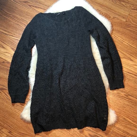 5020cc00a0e Anthropologie Sweaters - Knitted   Knotted bishop sleeve sweater dress